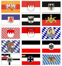 Flagge Motivflagge Fahne Deutschland Bundesland Regionalflagge 150x90cm