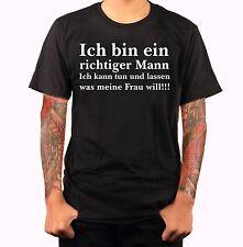 Funshirt Zitat Spruch Frau Mann Shirt Textildruck Vatertag Muttertag Geschen m97