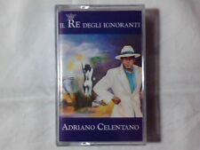 ADRIANO CELENTANO Il re degli ignoranti mc cassette k7 ROSITA ROSALINDA GIACOMO