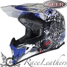 VIPER RSX95 BLACK WIDOW AZUL MOTO LEGAL PARA CARRETERA TODOTERRENO