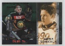 2001-02 Cardset Finland SM-Liiga Haltmeisters #4 Vesa Toskala Rookie Hockey Card