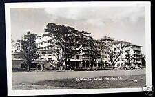 Philippines~1940's Manila P. I. ~ Manila Hotel ~ Rppc