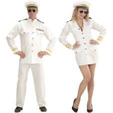 Damen Herren Kostüm NAVY KAPITÄN Captain Marine Offizier - Matrose Karneval