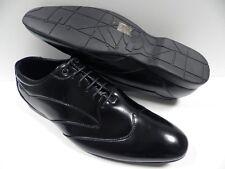 Chaussures ZY noir HOMME taille 42 garcon soirée mariage cérémonie NEUF #2011