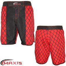 Maxis Boxe Pantaloncini MUAY THAI ALLENAMENTO UFC gabbia STILE MMA Da Uomo Boxer S M L XL
