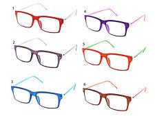 flexible Memory reading Frame Clear Glasses + Free pouch $5.00 CVFX2908RCV