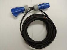 CEE Azul 16a ALARGADOR h07rn-f 3x2, 5 Cable de caravana DESDE 3m Cable de goma