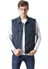 Denim Vest Urban Classics Streetwear Vestito Uomo