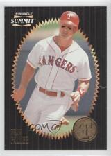 1996 Pinnacle Summit #144 Dean Palmer Texas Rangers Baseball Card