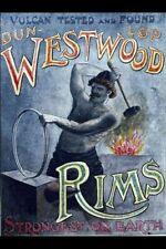 Vintage Poster Dun-lop Westwood Rims VCP008 Art Print A4 A3 A2 A1