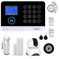 Wireless WiFi&GSM Smart Home House Office Security Burglar Alarm Systems Kit DIY