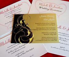 Personalised Wedding Invitations Civil Ceremony Invites Evening Reception & Vows
