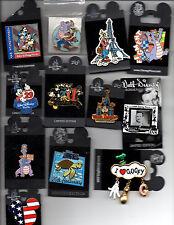 Walt Disney World -  Assorted Pins -  Fun Souvenir - Many Retired
