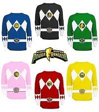Power Rangers Long Sleeve T Shirts For Men Ebay