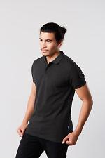 Señores heavy Polo Shirt manga corta talla M hasta 5xl en 6 colores monocromo