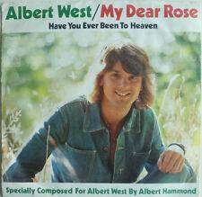 """7"""" 1974 ! ALBERT WEST : My Dear Rose // MINT-? \"""