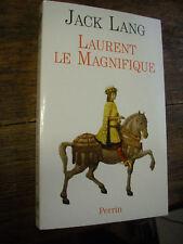 Laurent le Magnifique par Jack Lang