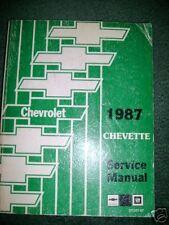 1987 Chevrolet Chevy Chevette Repair Service Manual