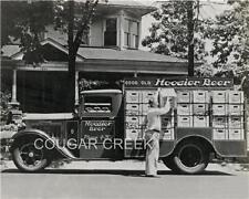 1930'S STUDEBAKER HOOSIER BEER DELIVERY TRUCK PHOTO