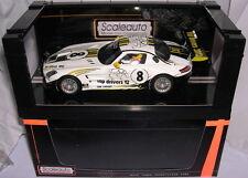 SCALEAUTO SC-6025 MERCEDES SLS GT3  #8  VIII EDICION MOSTOLES TOP DRIVERS 2012