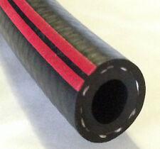 FUEL PIPE Braided  Flexible Hose RUBBER Engine Black Oil Air Water Diesel Petrol