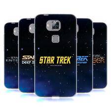 UFFICIALE Star Trek Chiave Art Soft Gel Custodia per Huawei Telefoni 2
