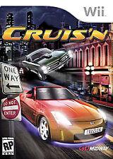CRUIS'N Nintendo Wii Game