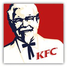 KFC Logo Fast Food Car Bumper Sticker Decal - 3'' or 5''