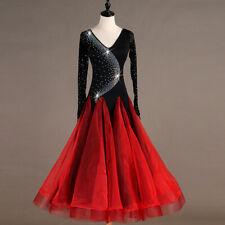 skirt Rumba Latin Salsa Samba Chacha Ballroom Dance Dress Dancewear
