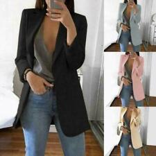 Hot Fashion Women Ladies Suit Coat Business Blazer Long Sleeve Jacket Outwear SZ