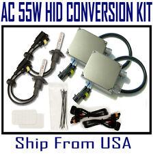 55W HID Xenon KIT Bulb Type H1 H3 H7 H11 HB3 HB4 Color 4300K 6000K 8000K