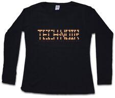TECH NOIR LOS ANGELES CLUB DAMEN LANGARM T-SHIRT Terminator Technoir Cyber Club