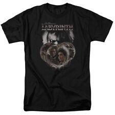 Labyrinth Globes Black Adult T-Shirt - (Medium)