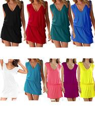 UK Women Holiday Beach dress Cover up Ladies Kaftan Summer wear Swimwear M L XL