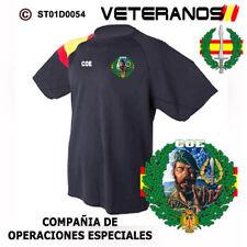 CAMISETAS TECNICAS: VETERANOS - COE / COMPAÑIA DE OPERACIONES ESPECIALES M2