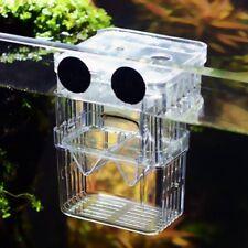 Aquarium Hatchery Trap Fish Breeding Box Tank Fry Pregnant Breeder Isolation Box