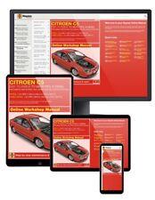 Citroen C5 Petrol & Diesel (2001-Mar 2008) Y to 08 Haynes Online Manual