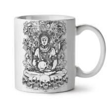Death God Skull Horror NEW White Tea Coffee Mug 11 oz   Wellcoda