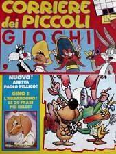 Corriere dei Piccoli 31 1991 Wile e Coyote - la Pimpa + inserto Giochi