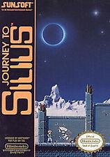 Nintendo NES Game Cartridge JOURNEY TO SILIUS