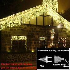 LED Christmas Lights Garland Home Garden Xmas Wedding Halloween Decoration New