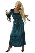 Gothic Halloween Kleid Fledermaus Kostüm Gothickostüm Mittelalter Damenkleid