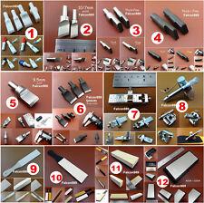 12Kind Leathercraft Swivel Carving Knife  Cutter Blade Head Sharpener Grindstone