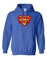 Super Mom Superhero Hero Power Best Mom Gift Funny Humor DT Sweatshirt Hoodie