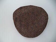 New Hanna Hat Irish speckled brown tweed cap flat soft Ireland Vintage style