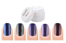 Koi  Chrome Pigment Nail art powder Fine Mirror Effect Finish nails Blue Purple