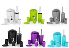 6 pièces Salle de bain ensemble d'accessoires Poubelle Porte savon Distributeur