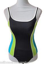 New Womens Marks & Spencer Black Swimming Costume Size 10
