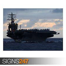 US navys GRANDE FLOTTA VERDE (AC160) dell'Esercito Poster-Poster Arte Stampa A0 A1 A2 A3