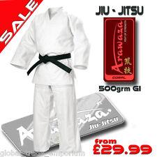 New ARAWAZA CORAL 15oz Top Quality JU JITSU SUIT GI Uniform Jiu BJJ 195 200 205